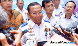 TERMINAL: Dirjen Perhubungan Darat Kementerian Perhubungan Budi Setiyadi