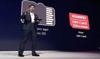 Richard Yu Huawei, Nano Memory Card, Huawei Mate 20