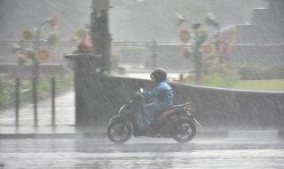 Hujan pertama mengguyur malang