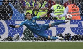 Igor Akinfeev, Timnas Rusia, Piala Dunia 2018, Timnas Spanyol