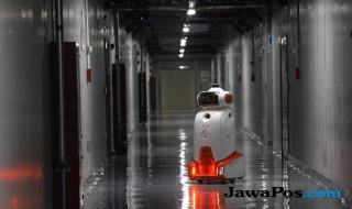 Robot Patroli milik Alibaba.