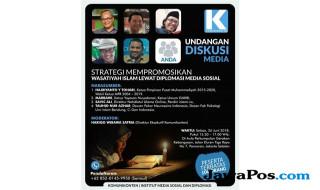 Ini Jadwal Diskusi Strategi Promosikan Wasatiyah Islam via Medsos