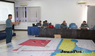 Tactical floor game di Puslatkaprang Koarmatim