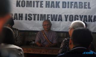 Ketua Komite Disabilitas Daerah Istimewa Yogyakarta Setya Adipurwanta