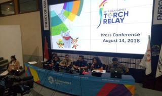 Asian Games 2018, Torch Relay, DKI Jakarta, Jakarta, Obor Asian Games 2018, Api Abadi