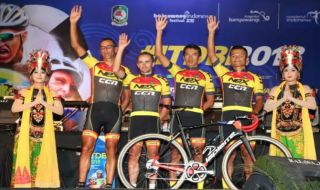 International Tour De Banyuwangi Ijen 2018, sepeda, Indonesia, Banyuwangi, Kawah Ijen