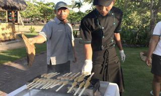 makanan khas indonesia, sate lilit, makanan khas bali, cara buat sate lilit, sol beach house benoa,