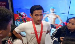 Asian Para Games 2018, Jendi Panggabean, renang, Indonesia