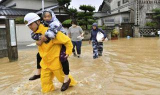 banjir jepang, tanah longsor jepang, jepan banjir tanah longsor