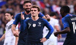 UEFA Nations League, Timnas Prancis, Timnas Jerman, Prancis 2-1 Jerman