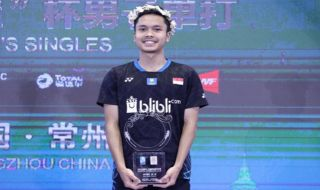 Korea Selatan Terbuka 2018, Anthony Sinisuka Ginting, bulu tangkis, Indonesia