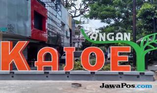 Jalan Kayu Tangan (sekarang Jalan Basuki Rahmad) Kota Malang