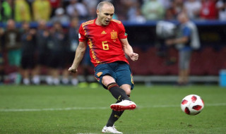 Piala Dunia 2018, Timnas Spanyol, Andres Iniesta