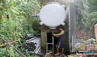 desa sumberdawe, kecamatan maron, air bersih