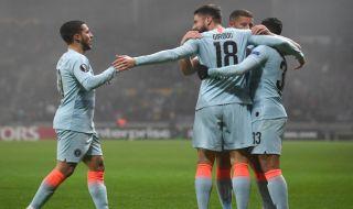 Liga Europa 2018-2019, Chelsea, BATE Borisov, BATE 0-1 Chelsea