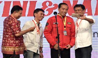 Jokowi Reuni Kagama