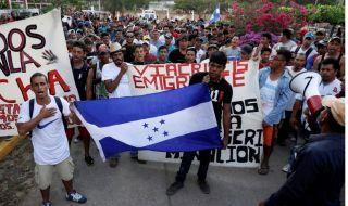 migran honduras, migran, AS, trump, migran jalan kaki, meksiko,