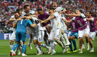 Spanyol vs Rusia, Timnas Spanyol, Timnas Rusia, Piala Dunia 2018, Babak 16 Besar