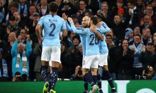 Manchester City, Shakhtar Donetsk, Liga Champions 2018 2019, Gabriel Jesus, Riyad Mahrez