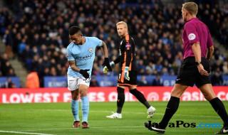 Gabriel Jesus, Manchester City, Leicester City, Premier League,