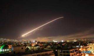 serangan syria, rudal AS syria