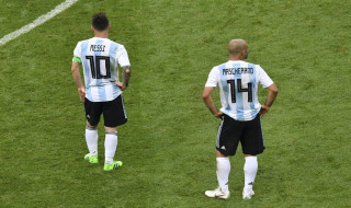 Timnas Argentina, Javier Mascherano, Lucas Biglia, Piala Dunia 2018