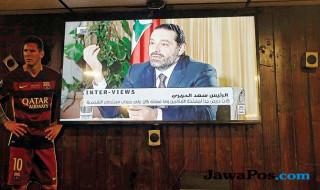 Mantan PM Lebanon Saad Hariri