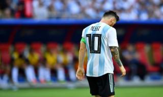 Piala Dunia 2018, Timnas Argentina, Lionel Messi