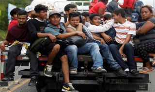migran ilegal, migran, migran honduras, trump, as,
