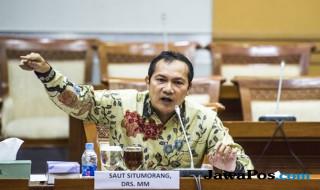 Wakil Komisioner KPK Saut Situmorang.