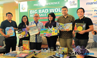 Konferensi pers Big Bad Wolf 2017 di The Alana Surabaya