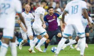 Liga Champions 2018-2019, Barcelona, PSV Eindhoven, Barcelona 4-0 PSV, Lionel Messi, Ernesto Valverde, Messi Hattrick