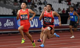 Asian Games 2018, Lalu Muhammad Zohri, Indonesia, Atletik