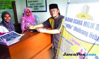 Kepala Desa Melirang, Kecamatan Bungah, Kabupaten Gresik Muwaffaq