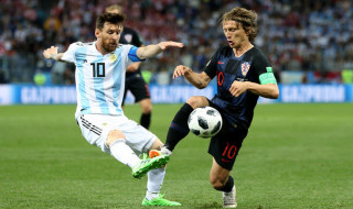 Piala Dunia 2018, Timnas Argentina, Timnas Kroasia, Argentina vs Kroasia, Lionel Messi, Luka Modric,
