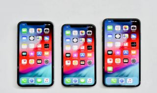 iPhone XR, iPhone XS, dan iPhone XS Max