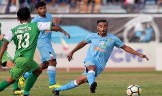 Liga 1 2018, Persela Lamongan, Bhayangkara FC, Persela 2-0 Bhayangkara, Loris Arnaud, Simon McMenemy