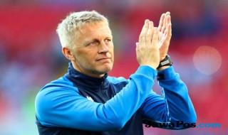 Pelatih Islandia Heimir Hallgrimsson