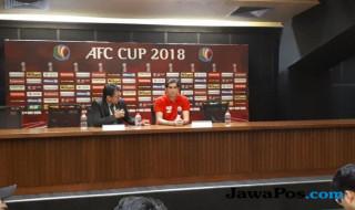 Persija Jakarta, Stefano Cugurra Teco, Home united, AFC Cup 2018,