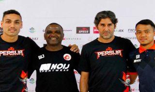 Persija Jakarta, Perseru Serui, Stefano Cugurra Teco, Wanderley da Silva, Liga 1 2018