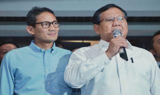 Sandi dan Prabowo