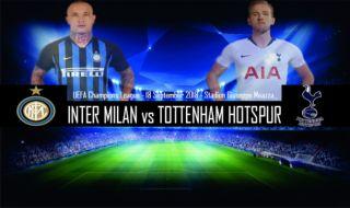 Liga Champions 2018-2019, Tottenham Hotspur, Inter Milan, Prediksi Inter Milan vs Tottenham Hotspur