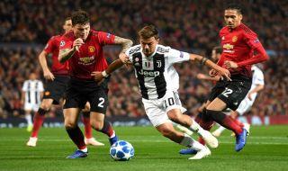 Liga Champions, Juventus, Manchester United