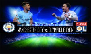 Liga Champions 2018-2019, Manchester City, Lyon, Prediksi Manchester City vs Lyon