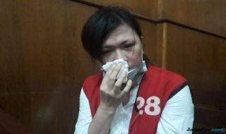 Yunita Wang alias Keyko, si ratu prostitusi online yang divonis 7 bulan penjara.