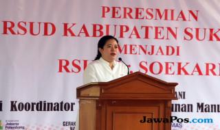 Menko PMK Puan Maharani, RSUD Soekarno