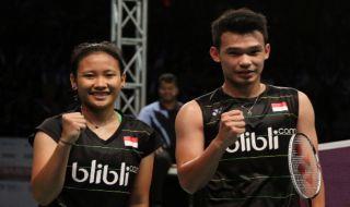 Bangka Belitung Indonesia Masters 2018, Rinov Rivaldy/Phita Haningtyas Mentari, Indonesia, bulu tangkis