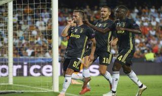 Liga Champions, Juventus, Valencia, Cristiano Ronaldo, Ronaldo nangis, Ronaldo kartu merah, Valencia 0-2 Juventus