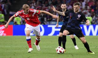 Rusia vs Kroasia, Piala Dunia 2018, Timnas Kroasia, Timnas Rusia, Perempat Final