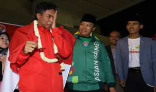 Lalu Muhammad Zohri, Zohri pulang kampung, zohri warga lombok
